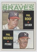 Phil Roof, Phil Niekro [Good to VG‑EX]