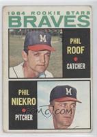 Phil Roof, Phil Niekro [GoodtoVG‑EX]