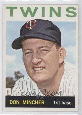 1964 Topps #542 - Don Mincher