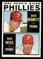 Phillies Rookie Stars (Dave Bennett, Rick Wise) [NM]