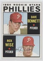 Phillies Rookie Stars (Dave Bennett, Rick Wise)