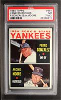 Yankees Rookie Stars (Pedro Gonzalez, Archie Moore) [PSA5]