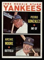Yankees Rookie Stars (Pedro Gonzalez, Archie Moore) [EX]