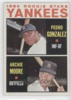 Yankees Rookie Stars (Pedro Gonzalez, Archie Moore)