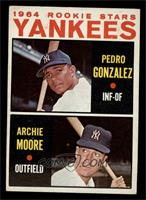 Yankees Rookie Stars (Pedro Gonzalez, Archie Moore) [VGEX]