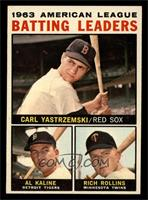 American League Batting Leaders (Carl Yastrzemski, Al Kaline, Rich Rollins) [NM]