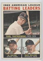 American League Batting Leaders (Carl Yastrzemski, Al Kaline, Rich Rollins)