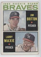 1964 Braves Rookie Stars (Jim Britton, Larry Maxie)