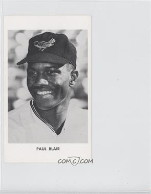 1965 Baltimore Orioles Team Issue #N/A - Paul Blair