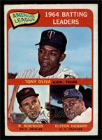 Tony Oliva, Brooks Robinson, Elston Howard [EX MT]