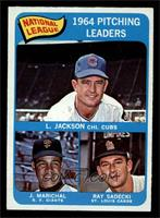 Larry Jackson, Juan Marichal, Ray Sadecki [EXMT]