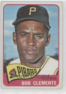 1965 Topps - [Base] #160 - Roberto Clemente [Good to VG‑EX]