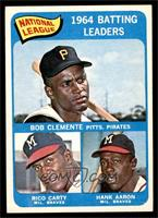 Roberto Clemente, Rico Carty, Hank Aaron [NM]