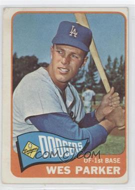 1965 Topps - [Base] #344 - Wes Parker