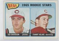 1965 Rookie Stars Reds (Dan Neville, Art Shamsky)