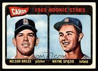 Cardinals 1965 Rookie Stars (Nelson Briles, Wayne Spiezio) [VGEX]