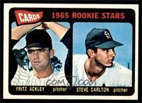 Cards 1965 Rookie Stars (Fritz Ackley, Steve Carlton) [EXMT]