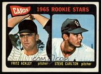Cards 1965 Rookie Stars (Fritz Ackley, Steve Carlton) [VGEX]
