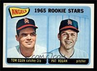 Angels 1965 Rookie Stars (Tom Egan, Pat Rogan) [NM]