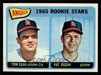 Angels 1965 Rookie Stars (Tom Egan, Pat Rogan) [NMMT]