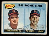 Angels 1965 Rookie Stars (Tom Egan, Pat Rogan) [GOOD]