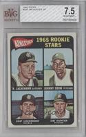 1965 Rookie Stars (Rene Lachemann, Johnny Odom, Skip Lockwood, Jim Hunter) [BVG…