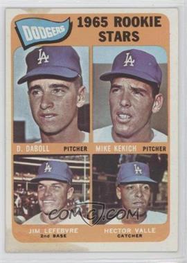 1965 Topps - [Base] #561 - Dodgers 1965 Rookie Stars (Dennis Daboll, Mike Kekich, Jim Lefebvre, Hector Valle)