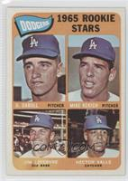 Dodgers 1965 Rookie Stars (Dennis Daboll, Mike Kekich, Jim Lefebvre, Hector Val…