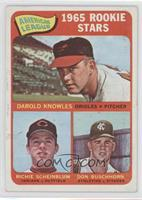 American League 1965 Rookie Stars (Darold Knowles, Richie Scheinblum, Don Busch…