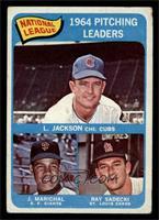Larry Jackson, Juan Marichal, Ray Sadecki [VG]