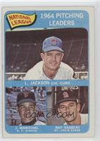 Larry Jackson, Juan Marichal, Ray Sadecki [Good to VG‑EX]