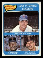 Larry Jackson, Juan Marichal, Ray Sadecki [NM MT]
