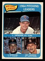 Larry Jackson, Juan Marichal, Ray Sadecki [NM]