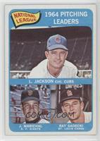 Larry Jackson, Juan Marichal, Ray Sadecki