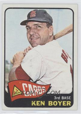 1965 Topps #100 - Ken Boyer