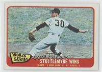 World Series Game 2: Stottlemyre Wins (Mel Stottlemyre)