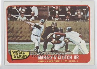 1965 Topps #134 - Mickey Mantle