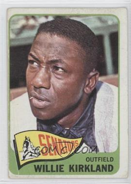 1965 Topps #148 - Willie Kirkland [Good to VG‑EX]