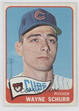 1965 Topps #149 - Wayne Schurr