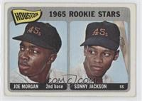 1965 Rookie Stars (Joe Morgan, Sonny Jackson) [Good to VG‑EX]