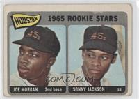 Houston Rookie Stars (Joe Morgan, Sonny Jackson) [Good to VG‑EX]