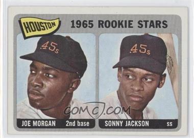 1965 Topps #16 - Houston Rookie Stars (Joe Morgan, Sonny Jackson)