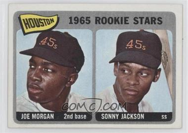 1965 Topps #16 - Houston Rookie Stars (Joe Morgan, Sonny Jackson)