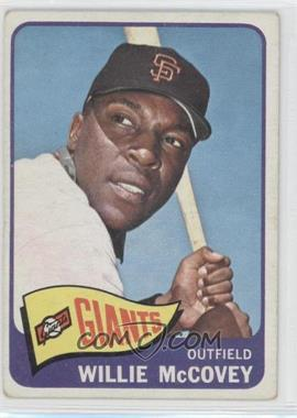 1965 Topps #176 - Willie McCovey