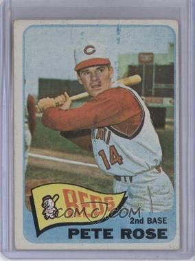 1965 Topps #207 - Pete Rose [Good to VG‑EX]