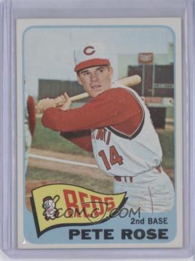 1965 Topps #207 - Pete Rose [GoodtoVG‑EX]