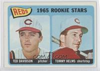 Reds Rookie Stars (Ted Davidson, Tommy Helms)
