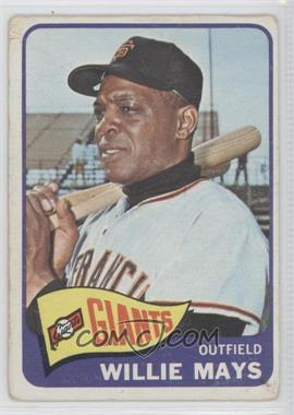 1965 Topps #250 - Willie Mays
