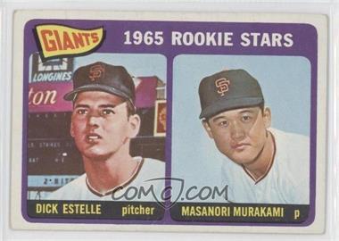 1965 Topps #282 - Dick Estelle, Masanori Murakami