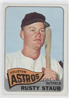 1965 Topps #321 - Rusty Staub